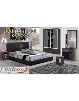 BEDROOM SET 799